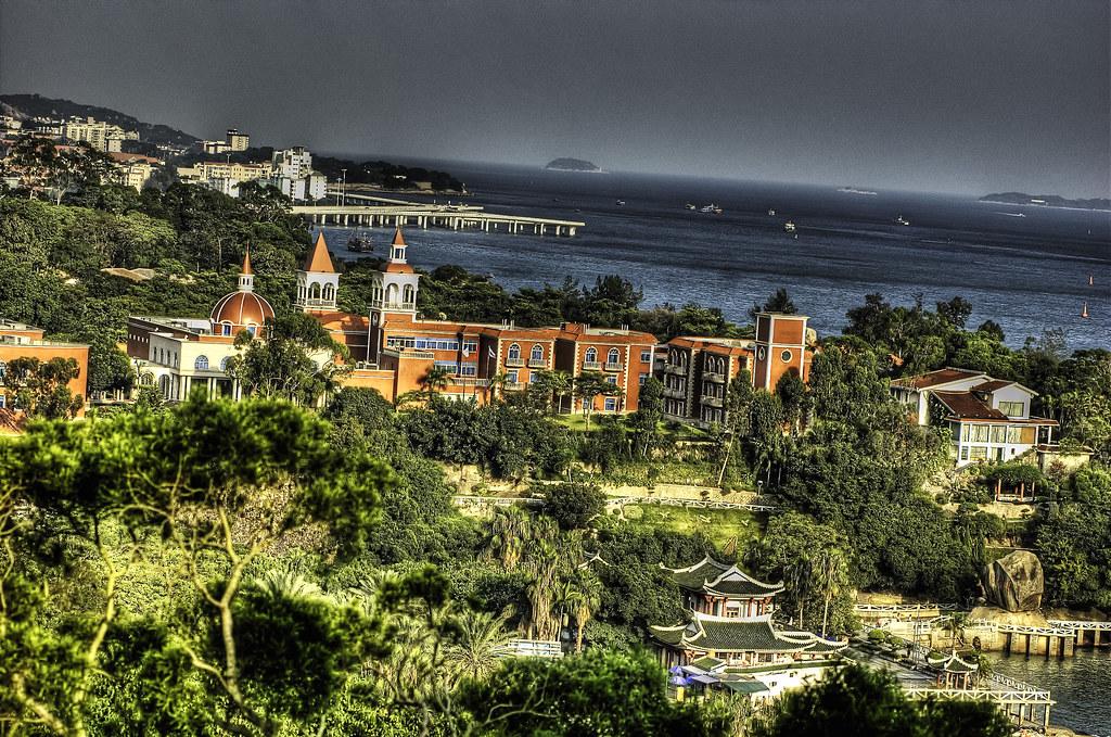 Xiamen: Gulangyu Island - Ocean View.