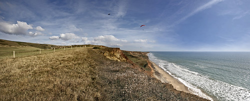 Panoramic gliding - Late summer days on the Isle of Wight