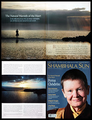 "Printed Publication in ""Shambala Sun"" (Ben Heine) Tags: ocean light sea nature magazine waves peace lumire faith religion culture buddhism philosophy positive wisdom bestseller dalailama peacefulness socialaction sagesse pemachdrn jackkornfield paisible beautyoflife benheine eveningfalling october2009 paixintrieure adaythatissoongone sharonsalzberg shambalasun printedpublication wwwshambhalasuncom"