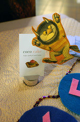 coco cake card plus monster friend!! ({ coco cake cupcakes }) Tags: wherethewildthingsare moishe spikejonze cococake wherethewildthingsaremovie cococakecupcakes cococakevancouver wherethewildthingsarecake moishecake wherethewildthingsarecarol