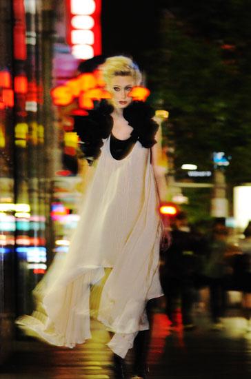 Midnight Cowboy, Night Editorial Sydney, George Street Vampire, Fashion Photography
