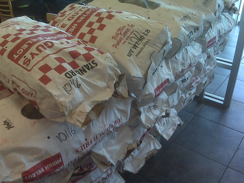 Potatoes at Five Guys