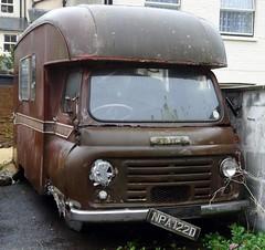Austin camper van (Paul @ Doverpast.co.uk) Tags: old brown st austin vehicle rusting hastings van camper decrepid leonards