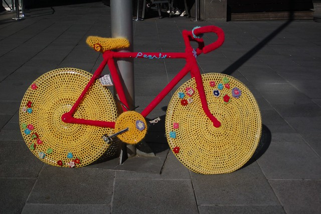 Side By Side Week 89 - Hipster Crochet Bike