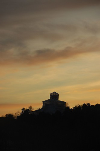 Solnedgang over Bygdøy