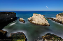 Shark Fin Cove by Moonlight - Davenport, California (Jim Patterson Photography) Tags: ocean california longexposure nightphotography sea seascape beach night stars landscape coast nikon rocky fullmoon highway1 pacificocean coastal shore davenport d300 santacruzcounty pantherbeach landscapephotography nikkor1224mm oceanscape sharkfincove beneathblueseas beneathblueseascom jimpattersonphotography sharkfinbeach jimpattersonphotographycom seatosummitworkshops seatosummitworkshopscom