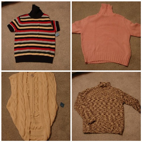 Thrifty Sweaters by you.