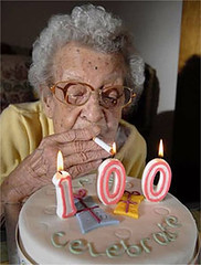The secret of Longevity! (twm1340) Tags: birthday smoking 100 longevity smoker longlife