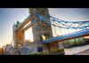 Tower Bridge HDR (schoebs) Tags: sun black london water sunshine towerbridge canon eos tilt hdr borders 40d schoebs