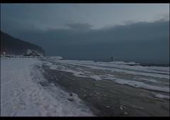 year ago (volen76) Tags: winter sea snow ice beach sand gimp baltic zima nieg ld klif morze batyk plaa piasek smsls