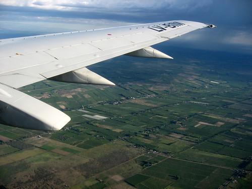Paisajes desde el avion