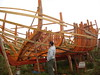 παρατηρήσεις και διορθώσεις σε καθημερινή βάση ... Οτί μας χαλά στο μάτι το αλλάζουμε, ότι οι παλίοι μας συμβουλεύουν και ότι τα βιβλία μας ορίζουν προσπαθουμε να ακολουθήσουμε (AEGEOTISSA) Tags: boat woodenboat galleon shipbuilding yacth βάρκα καράβι καρνάγιο σκάφοσ λευκάδα ταρσανάσ πειρατικό ξύλινο ναυπήγιση σκαρί καραβομαραγκόσ corsarodelsantamaura γαλίονι httpaegeotissablogspotcom