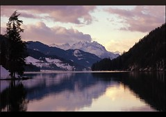 A Day Ending In Lavander (our cultural archive) Tags: sunset lake mountains alps nature reflections landscape austria österreich peace tranquility carinthia lavander reflexions cate spectacularlandscapes copenhaver oarsquare worldwidetravelogue lakeweissensee