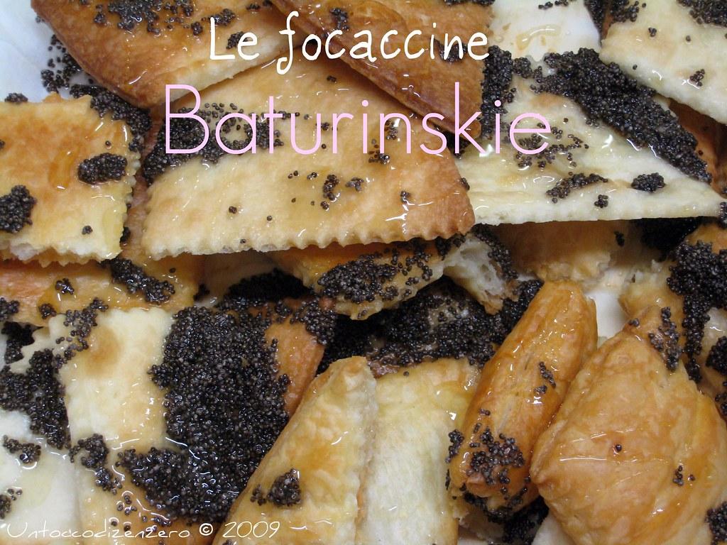 Focaccine Baturinskie...