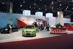 Brilliance (Chinese) (Dave Pinter) Tags: detroit autoshow brilliance
