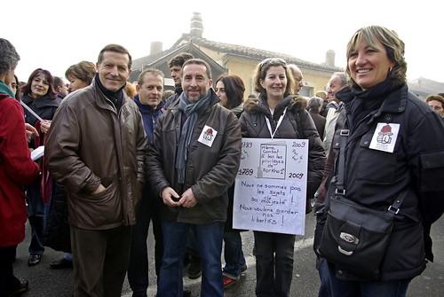 Manifestation du 29 janvier à Auch