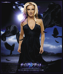 Britney Spears [ Frozen ] ( Omar Rodriguez V.) Tags: sky black bird toxic rock lady night photomanipulation dark hair naked photography lights star frozen glamour kill power dress desert amy princess fuck spears circus madonna makeup style pop queen fairy fantasy fancy glam goodbye seek blackout britney slave everytime rayoflight inthezone womanizer slave4britney