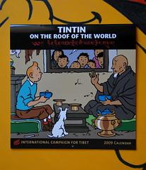Tintin in Tibet calendar ICT su BAB - photo Goria - click