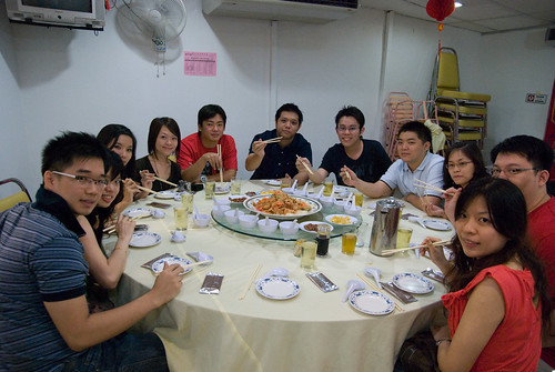 APIIT Gang Chinese New Year Dinner @ Robson Heights + Gambling