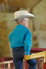 MOMMA'S DON'T LET YOUR BABIES....... (Rowdy's Gal) Tags: boy hat wranglers littlecowboy