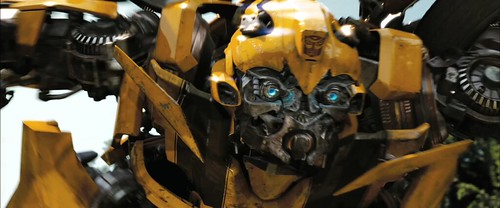 Transformers 2 trailer Bumblebee zoom