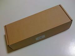 MacBook バッテリー 外箱
