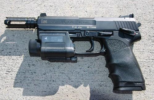 HK USP 45 with Muzzle Break