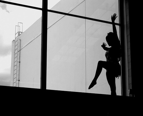people dancing silhouette. Dancing Silhouette
