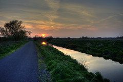 Newry Canal at Knock Bridge - Near Portadown (Glenn Cartmill) Tags: uk ireland irish nature water canon river eos 350d canal scenery photos unitedkingdom glenn northernireland canoneos350d eos350d digitalrebelxt hdr sunreflection ulster portadown cartmill ulsterway coarmagh upperbann newrycanal picturesofireland portadownarea photosofportadown glenncartmill portadownphotos portadownphotography