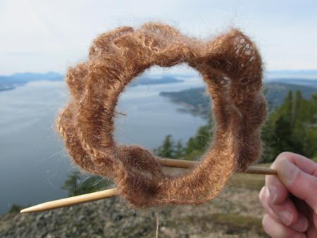 Curly Q on Mt. Erskine