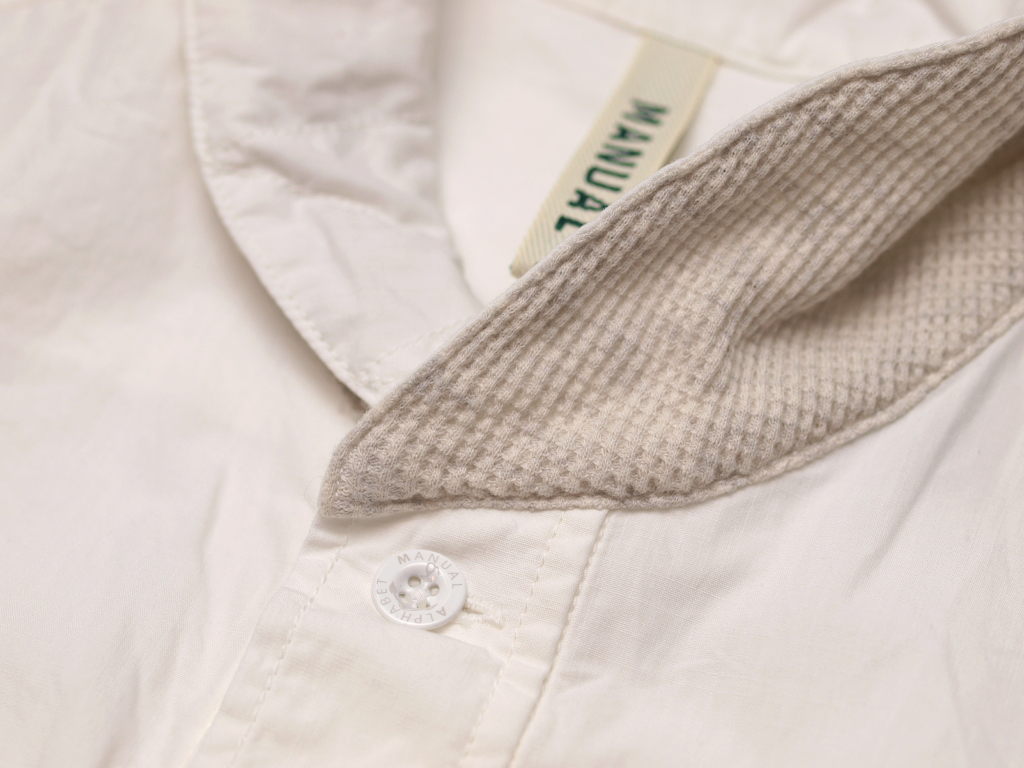 Manual Alphabet / S/S Shawl Pullover Shirt