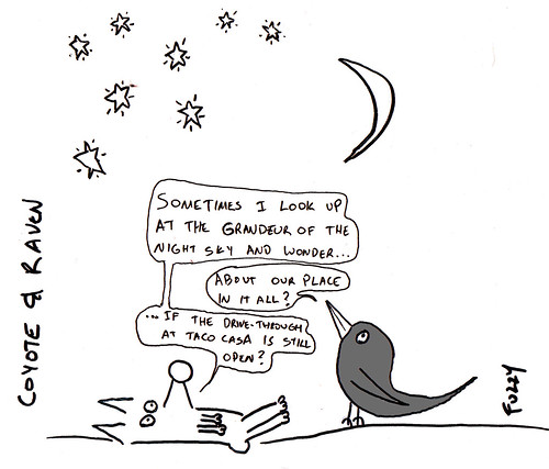 366 Cartoons - 077 - Coyote and Raven