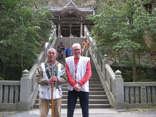 Day08 - 01 - The retired sailor and me at 大宝寺 (Temple 44)