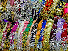 Bling Bling (Rosita So Image) Tags: colour turkey market blingbling panasonic antalya merchandise colourful bellydancing bazar goodie swatimage rositaso