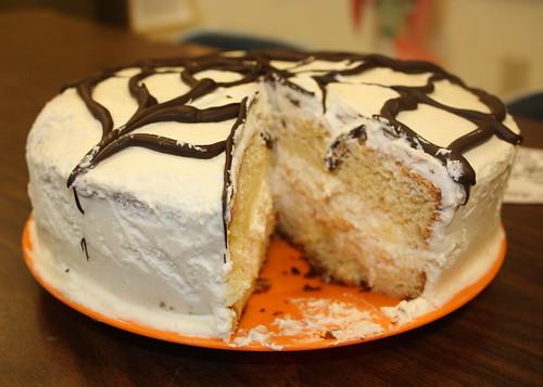 Bakery Style Cannoli Cake Recipe