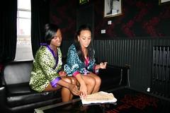 Cherise & Nadia from Booty Luv on Pocket TV (Pocket TV) Tags: nadia pants sonyericsson interview eurovision cherise bigbrovaz pockettv bootyluv mattedmondson