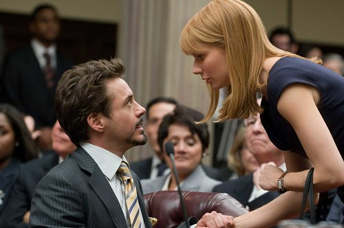 Iron Man 2 Tony Stark y Pepper