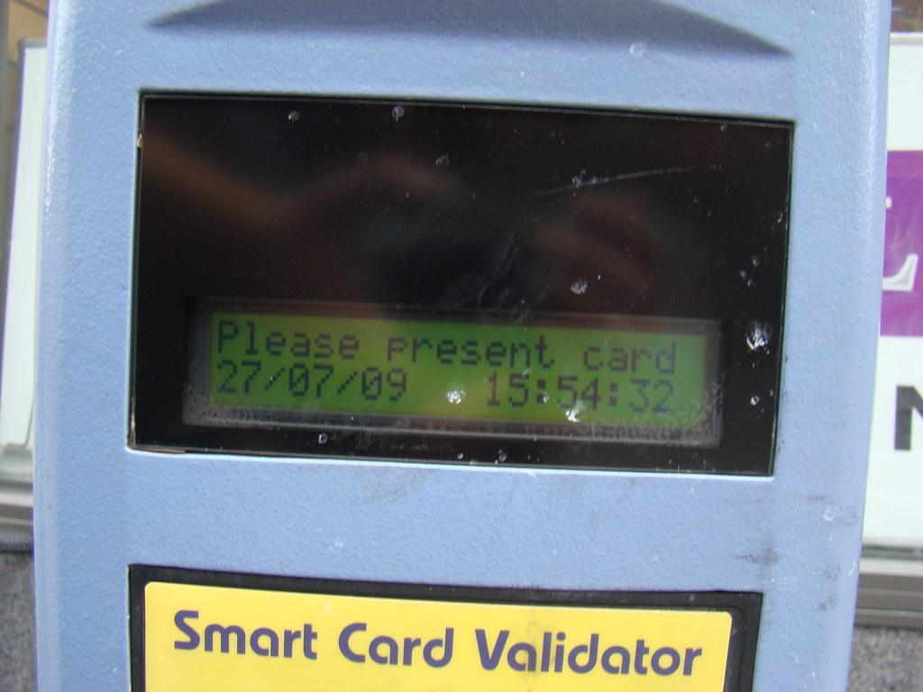 Luas smartcard reader