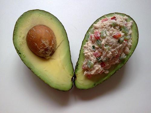 avocado avocado and tuna tapas recipe yummly avocado and tuna tapas ...