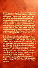 P8121290 (Vagamundos / Carlos Olmo) Tags: barcelona museo nacional 2009 catalua robertcapa exposicin vagamundos carlosolmo gerdataro