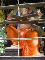Ganesh Preparations 2009 12 (Rahul_shah) Tags: ganpati parel lalbaug ganeshfestival khatu ganeshpreparations2009 ganeshworkshop khatuganeshpreparations2009ganeshworkshopganeshfestival