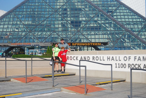 Rock & Roll Hall of Fame (In the plaza) - Cleveland, OH