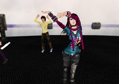 Clubbing @ Fracture 2 (Beca Staheli) Tags: life gay boy cute girly feminine avatar emo rory crossdressing secondlife kawaii second fracture trap effeminate androgynous bishonen prettyboy femboy femboi