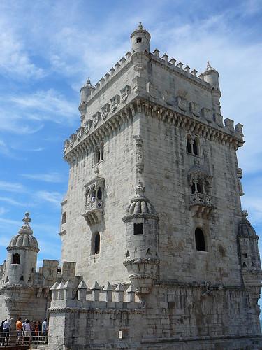 La Torre de Belém, uno de los hitos más reconocibles de Lisboa.