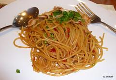 Spaghetti Thai Style, Bangkok Thailand