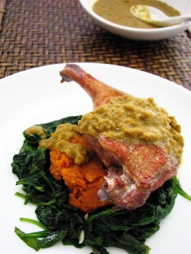 duck curry - madhur jaffrey's