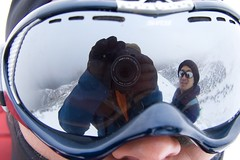 Mt Feathertop (timmy_pete) Tags: snow reflection me glasses phil hiking victoria fave ridgeline googles alpinenationalpark mtfeathertop img8683 timl2