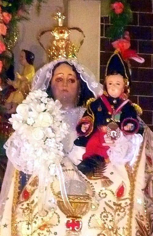 Niño Jesús Mariscal Chaperito y Virgen de la Natividad de Canta