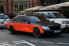Maybach 57 (Richard de Heus) Tags: orange black london harrods rrr 57 maybach matteblack rrrgroup
