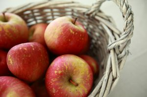 basket of apples by dydydada on sxc.hu
